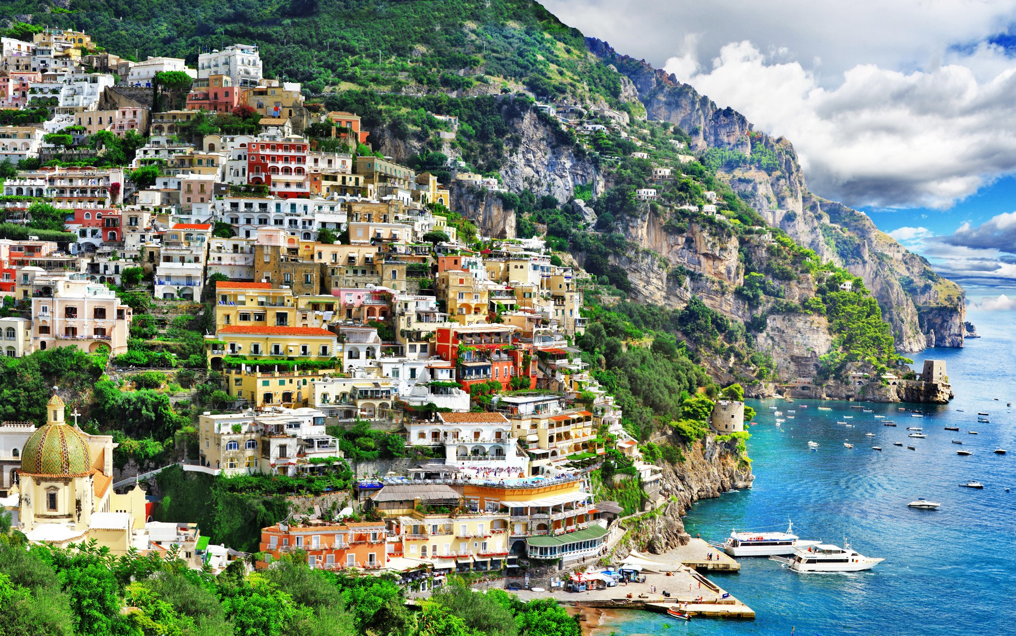 Italian Tourist: Amalfi Coast Travel Guide For First-time Visitors